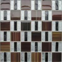 Quality Glass Mosaic for Wall and Floor-golden Paper Series(TJS06) for sale