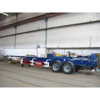 Wholesale multi axle trailer truck 40 tons container truck chassis - CIMC from china suppliers