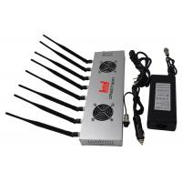 Quality 16W Powerful WiFi Bluetooth 3G 4G Mobile Phone Jammer With Light Weight for sale