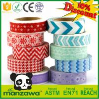 Wholesale Manzawa colorful custom make washi tape,custom printed washi tape from china suppliers