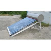 Wholesale 100L Aluminum support stainless steel low pressure solar water heater from china suppliers