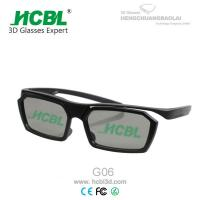 Wholesale Comfortable ABS Frame Master Image Black 3D Glasses With Slight Legs from china suppliers