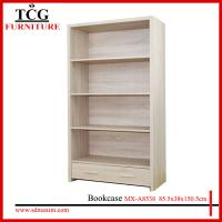 Quality Particle board KD Design melamine colors bookcase MX-A8538 for sale
