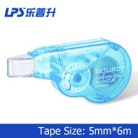Wholesale Anti Slip Grip Mini Blue Colored Correction Tape Roller 6 Meter Plastic from china suppliers
