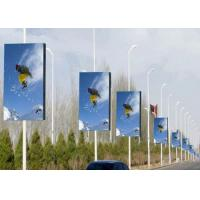 Wholesale High Resolution Commercial P4 LED Display Advertising Lighting Pole from china suppliers