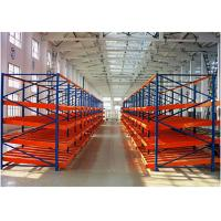 Wholesale Industrial Storage Racks Heavy Duty , Gravity Industrial Pallet Racks For Storing Goods from china suppliers