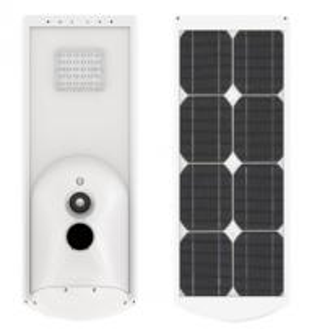 Quality 2700-7500K Solar Street Light All In One 40W Solar Powered Street Lights Residential for sale
