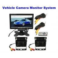 Wholesale 2.0 Megapixel Car Reversing Camera / Night Vision Reverse Camera With Monitor System from china suppliers