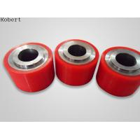 Wholesale Colorful Polyurethane Roller Wheels , High Capacity Urethane Coated Rollers Wheels from china suppliers