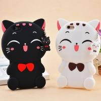 Wholesale Soft 3d Silicone Lucky Cat Phone Cases For IPhone 6 / 6 Plus Protection from china suppliers