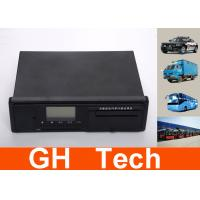 Wholesale Bus Tracker GPS Digital Tachograph , Black Vehicle Travling Data Recorder from china suppliers