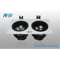Wholesale Antiglare 6W Square LED Ceiling Light For Indoor Decorative , High Efficiency from china suppliers