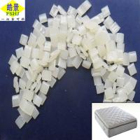 Quality Strong Rubber Hot Melt Glue Pellets For Sponge Mattress , White Color for sale