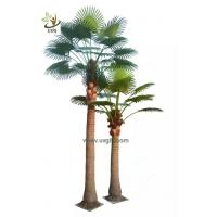 Wholesale UVG PTR048 factory price fake coconut palm tree for indoor office landscaping from china suppliers