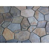 Wholesale China Rusty Slate Flagstone Walkway Pavers Slate Patio Stones Flagstone Wall Cladding from china suppliers