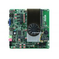 Wholesale 2 serial port Mini ITX Embedded All In One Motherboard AMD N550 Dual-Core CPU from china suppliers