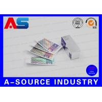 Buy cheap Hologram Adhesive Stickers Label And Box With Custom New Company Name from wholesalers