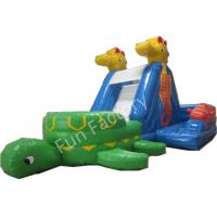 Wholesale Fun Wild Rapids Inflatable Water Slide Children Inflatable Pool With Slide from china suppliers
