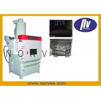 Wholesale Crawler Type Durable Ceramic / Steel Shot Blasting Machine For Small Ironware from china suppliers