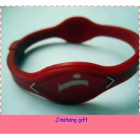 Wholesale power silicone wristband from china suppliers
