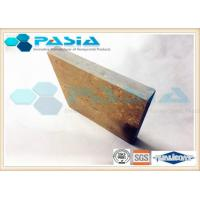 Wholesale Commercial Onyx Stone Faced Panels , Lightweight Marble Panels New Building Material from china suppliers