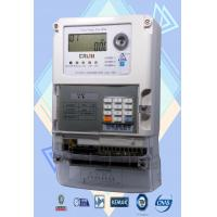 Wholesale Polyphase STS Prepayment Meters Low Credit Warning Smart Power Meter from china suppliers
