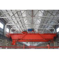 Buy cheap 30 Ton Casting workshop Strong Bearing Double Beam Bridge EOT Crane from wholesalers