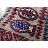 Wholesale Hand Made Embroidery Designs Patches , Military Uniforms Emboired Patches from china suppliers