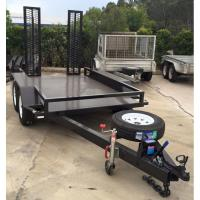 Wholesale Dual Axle 3.5 Ton / 4.5 Ton Plant Equipment Trailer , Heavy Equipment Trailers from china suppliers