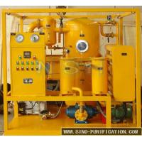 Wholesale Phosphate Ester Fluids Vacuum Oil Purifier Stainless Steel Oil Purification Machine from china suppliers