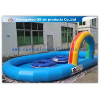 Wholesale Large Inflatable Water Pool Water Pond For Backyard With Durable 0.9mm Pvc Tarpaulin from china suppliers