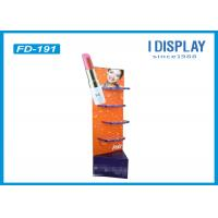 Wholesale Lipstick Foldable Makeup Retail Display , 4 Tiers Custom Cardboard Display Stands from china suppliers