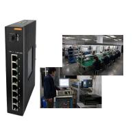 Wholesale Dual redundant power input 8 port poe switch with fiber port , passive poe switch din rail from china suppliers