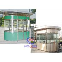 Wholesale Custom reliable Portable Prefab Sentry Guard Booth SUS 304 made from china suppliers