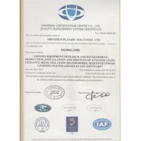 Plusafe Solutions Limited Certifications