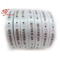 Wholesale 31mm Exclusive Custom Printed Ribbon Silkscreen Technics single sided satin ribbon from china suppliers