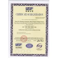 Eternal Bliss Alloy Casting & Forging Co.,LTD. Certifications