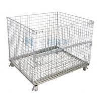 Wholesale OEM Galvanized Storage Cold Roll Steel Container Store Shelves With Wheels from china suppliers