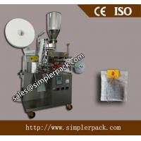 Wholesale Single Serving Filter Paper Turmeric Tea Bag Packing Machine with Thread and Tag from china suppliers