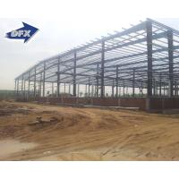 Wholesale painting or hot galvanized light steel structure building prefabricated warehouse for construction from china suppliers