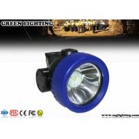 Quality 4000 Lux 0.6W LED Mining Light  171g Light Weight 2.2Ah Li-Ion Battery for sale
