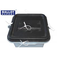 Wholesale 45L Transparent PP Plastic Ballot Box With 5 Security Locks SGS / ISO9001 from china suppliers