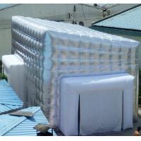 Wholesale 7m Pvc Silvery Inflatable Cube Tent for Exhibition and Trade Show from china suppliers