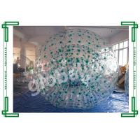 Wholesale Transparent TPU Inflatable Zorb Ball For Rental / Inflatable Body Bumper Ball from china suppliers