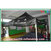 Wholesale Black Outdoor Folding Tent  , Giant Waterproof Tent With Aluminum Frame from china suppliers
