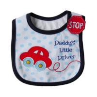 Wholesale Eco Friendly Cute Car Custom Baby Bibs Coffton for Infants / Toddlers from china suppliers