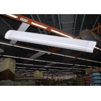 Wholesale Low Profile LED linear light fixtures 1200mm 40W 120lm/W 4800lm surface mount lamps IP44 from china suppliers