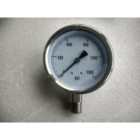 "Wholesale 4"" All Stainless Steel Pressure Gauge with Explosion proof Hole , 0 - 1500 psi Pressure Gauge from china suppliers"
