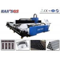 Wholesale Fiber Laser 1500W 2000w 3000w Tube and Metal Sheet Laser Cutter Price from china suppliers