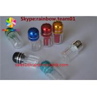 Wholesale silver and gold clear ps sex pill bottle container pill bottle plastic pill bottles sex capsule bullet shell casing from china suppliers